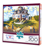 A Delightful Day on Sparkhawk Island (300 Large Piece Puzzle)