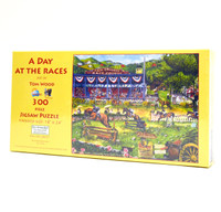 A Day At The Races (300 Large Piece Puzzle)
