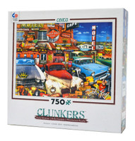 Old Cars and Used Guitars jigsaw puzzle