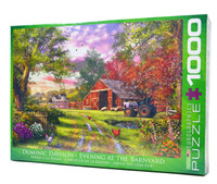 Evening at the Barnyard Jigsaw Puzzle
