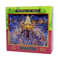 Festival of Trees Jigsaw Puzzle by Eric Dowdle