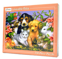 Loveable Pets Jigsaw Puzzle