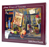 Wines of Tuscany 1000 Piece Jigsaw Puzzle