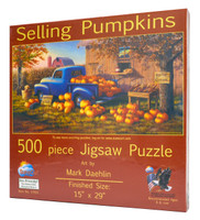 Selling Pumpkins Jigsaw Puzzle