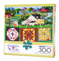 The Quiltmaker Lady (300 Large Piece Puzzle)