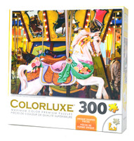 Colorful Wooden Carousel