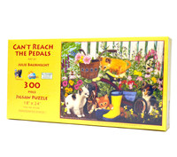 Can't Reach the Pedals (300 Large Piece Jigsaw Puzzle)