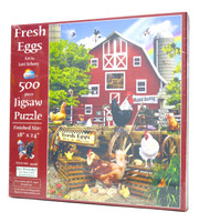 Fresh Eggs (500 piece Puzzle)