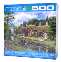 Cobble Walk Cottage (500 Piece Puzzle)