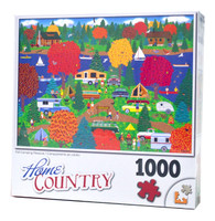 Fall Camping Pleasure Jigsaw Puzzle
