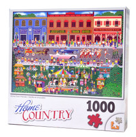 Home Town Parade (1000-piece Jigsaw Puzzle)