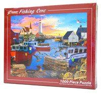 Fishing Cove 1000-piece Jigsaw Puzzle