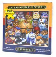 Cats Around the World Puzzle