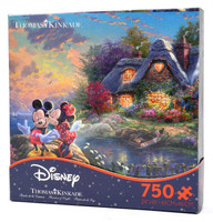 Mickey and Minnie - Thomas Kinkade - Disney