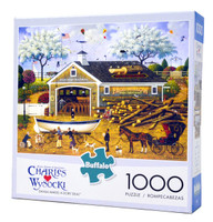 Dahlia Makes A Dory Deal 1000-piece Wysocki Jigsaw Puzzle