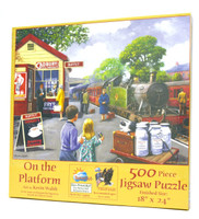 On the Platform 500-Piece Jigsaw Puzzle