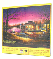 A Perfect Evening 1000-Piece Large Piece Jigsaw Puzzle