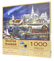 Winter Harbor 1000-Piece Jigsaw Puzzle