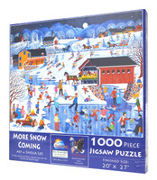 More Snow Coming Puzzle