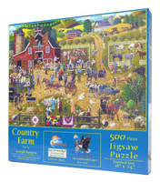 Country Farm Puzzle