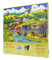 Big Top Circus Train Jigsaw Puzzle