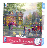 Hometown Firehouse Jigsaw Puzzle