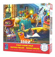 Kitten Play 550-Piece Jigsaw Puzzle