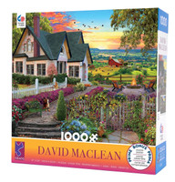 Hilltop View Jigsaw Puzzle