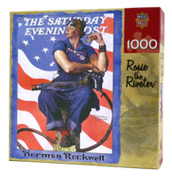 Rosie the Riveter Norman Rockwell Puzzle