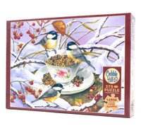 Chickadee Tea  Large piece  Puzzle
