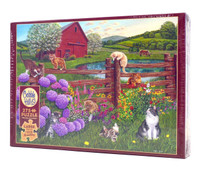Farm Cats Jigsaw Puzzle