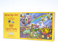 Spring Egg Hunt (300 Large Piece Puzzle)
