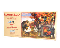 Rooster  Farm (large piece jigsaw puzzle)