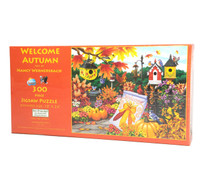 Welcome Autumn 300 large Piece Puzzle