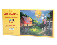 July Celebration 300 Large Piece Jigsaw Puzzle