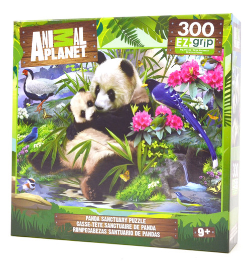 Panda Sanctuary 300 piece large piece puzzle