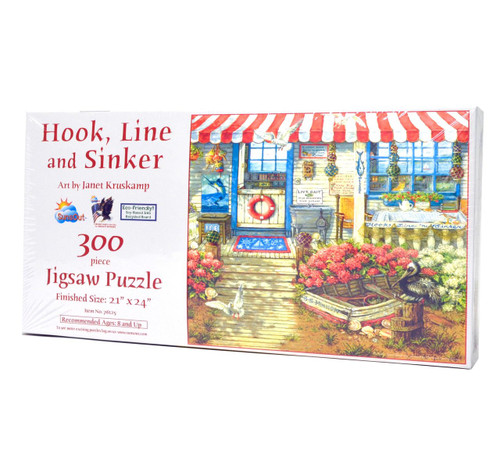 Hook, Line, and Sinker (300 Large Piece Puzzle)