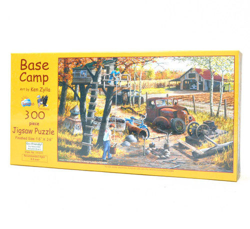 Base Camp (300 Piece Jigsaw Puzzle)