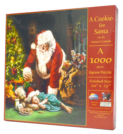 A Cookie for Santa 1000 piece puzzle