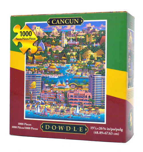 Cancun puzzle by Eric Dowdle