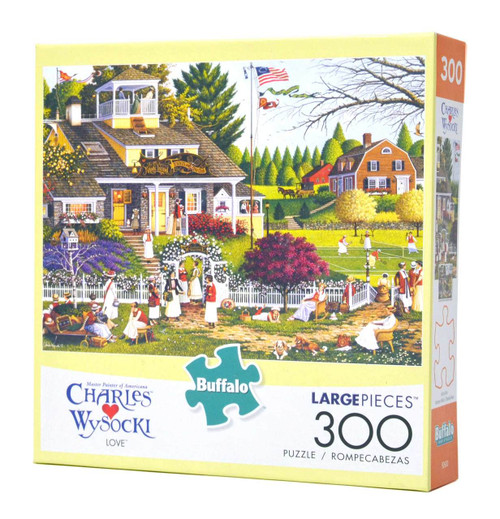 Love (Wysocki 300 Large Piece Puzzle)