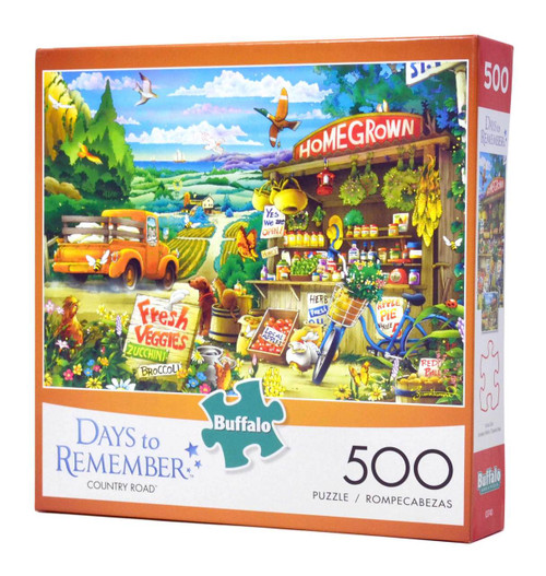 Country Road 500-piece Jigsaw Puzzle