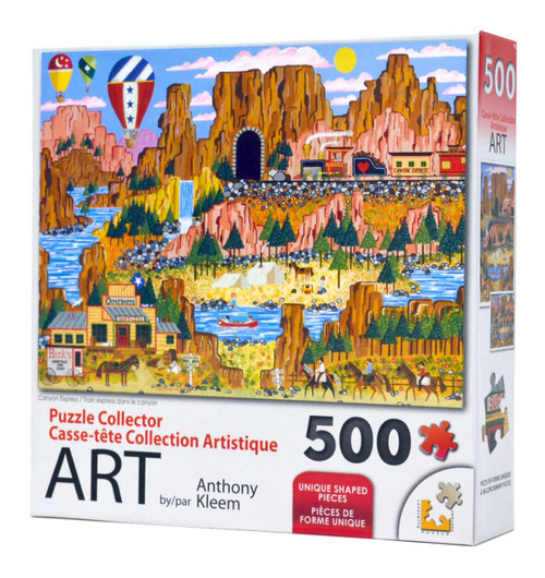 Canyon Express (500 Piece puzzle)