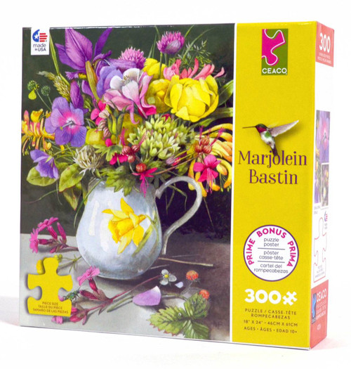 Floral Flair Jigsaw Puzzle