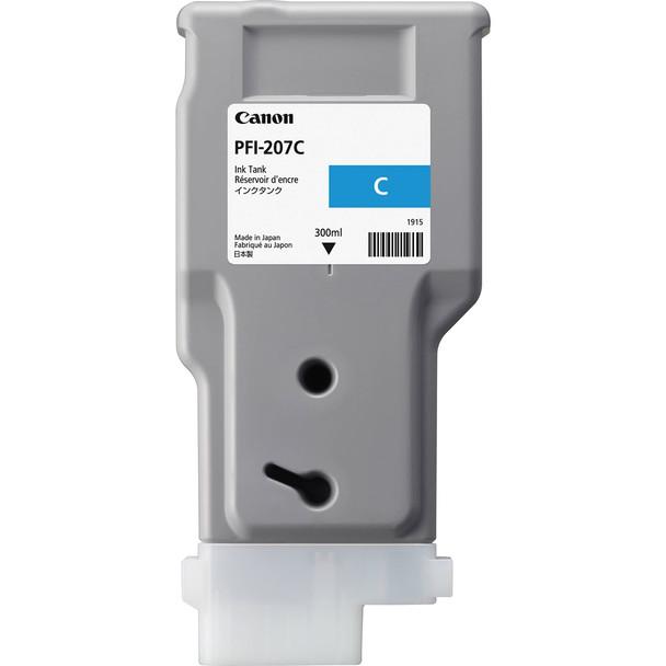 Canon PFI 207C - Cyan Ink Tank 300ml (CIPFI207C)