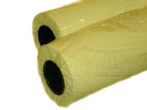 36x500 20lb Tinted YELLOW Bond Carton - (2 rolls per box)