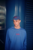 Royal Blue Long Sleeved T-shirt with Embroidered Utopia Logo