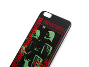Black iPhone Case With Psychedelic Transformations Print