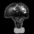 D.O.T. DAYTONA SKULL CAP- W/ GEARHEAD