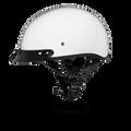 D.O.T. DAYTONA SKULL CAP- HI-GLOSS WHITE